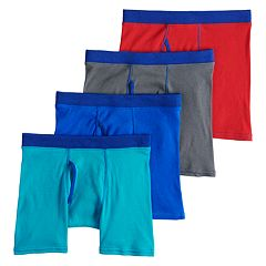 Boys 4-20 Hanes Comfort Cotton 4-Pack Boxer Briefs