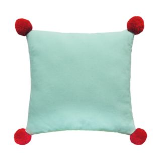 "St. Nicholas Square® ""Up On The Wooftop"" Mini Throw Pillow"