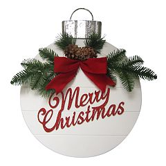 St. Nicholas Square® Light-Up Christmas Ornament Wall Decor