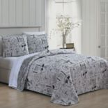 Avondale Manor Ooh La La 3-piece Quilt Set