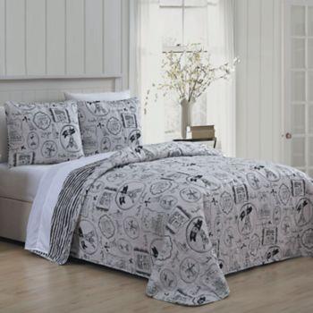 Avondale Manor Ooh La La 3-piece Quilt Set