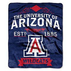 Arizona Wildcats Label Raschel Throw by Northwest