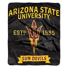 Arizona State Sun Devils Label Raschel Throw by Northwest
