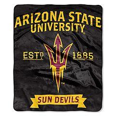 Arizona State Sun Devils Label Raschel Throw by Northwest
