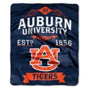 Auburn Tigers Label Raschel Throw by Northwest