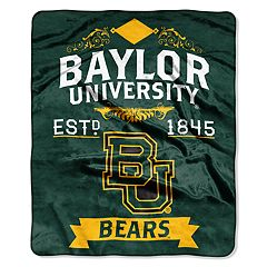 Baylor Bears Label Raschel Throw by Northwest