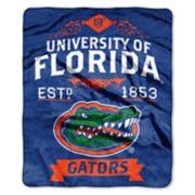 Florida Gators Label Raschel Throw by Northwest