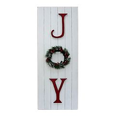 St. Nicholas Square® 'Joy' Christmas Wall Decor