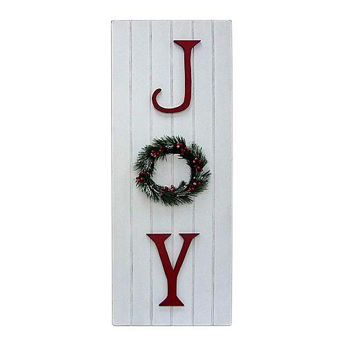 """St. Nicholas Square® """"Joy"""" Christmas Wall Decor"""