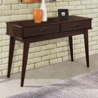 Simpli Home Draper Mid-Century Console Table