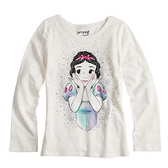 Disney's Snow White Girls 4-10 Glittery Graphic Tee by Jumping Beans®