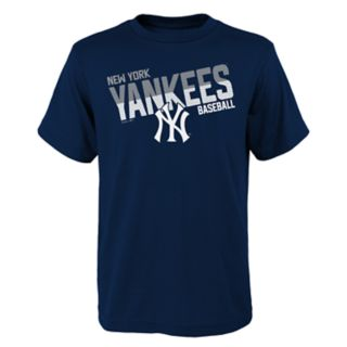 Boys 4-18 New York Yankees Meshed Up Tee