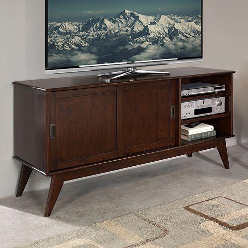 Simpli Home Draper Mid-Century Medium TV Stand