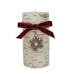 St. Nicholas Square® Winter Frost 3' x 6' Pillar Candle