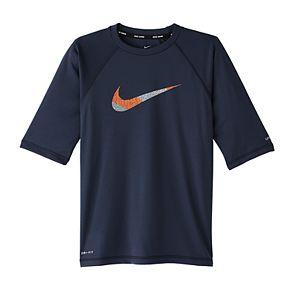 Boys 8-20 Nike Mash Up Swim Shirt