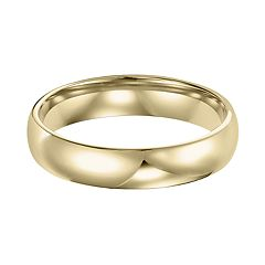 Men's 14k Gold Comfort Fit Wedding Band