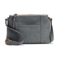 SONOMA Goods for Life™ Karlie Double Zip Crossbody Bag