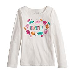 Girls 4-10 Jumping Beans® Long-Sleeve Graphic Tee