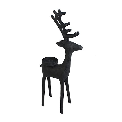 St. Nicholas Square® 11.5-in. Reindeer Tealight Christmas Candle Holder