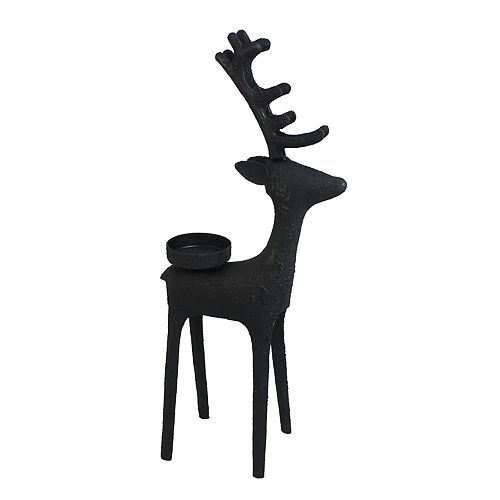 St. Nicholas Square® 13-in. Reindeer Tealight Christmas Candle Holder