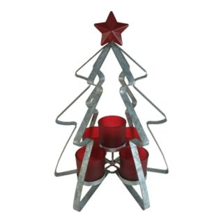 St. Nicholas Square® 5-Light Tealight Christmas Candle Holder
