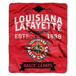 Lafayette Leopards Label Raschel Throw by Northwest