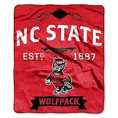 North Carolina State Wolfpack Label Raschel Throw by Northwest