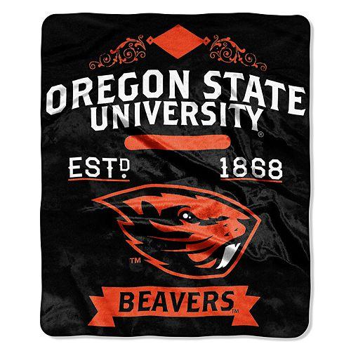 Oregon State Beavers Label Raschel Throw by Northwest