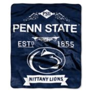 Penn State Nittany Lions Label Raschel Throw by Northwest