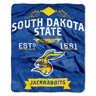 South Dakota State Jackrabbits Label Raschel Throw by Northwest