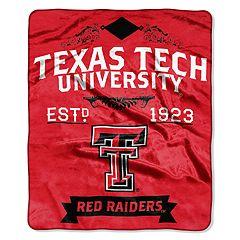 Texas Tech Red Raiders Label Raschel Throw by Northwest