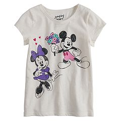 Disney's Mickey & Minnie Mouse Girls 4-10 Graphic Tee by Jumping Beans®