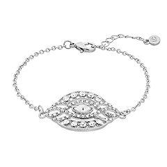 LC Lauren Conrad Simulated Crystal Medallion Bracelet