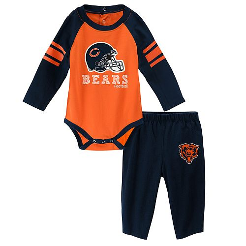 Baby Chicago Bears Future Starter Bodysuit & Pants Set