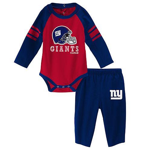Baby New York Giants Future Starter Bodysuit & Pants Set
