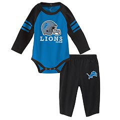 Baby Detroit Lions Future Starter Bodysuit & Pants Set