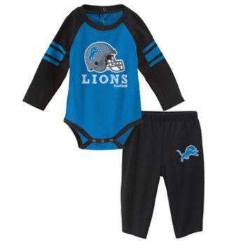 Baby Detroit Lions Future Starter Bodysuit & Pants Set