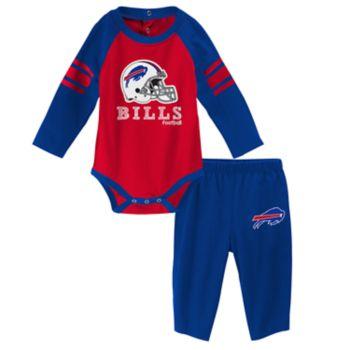 Baby Buffalo Bills Future Starter Bodysuit & Pants Set