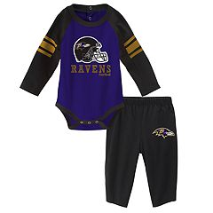 Baby Baltimore Ravens Future Starter Bodysuit & Pants Set