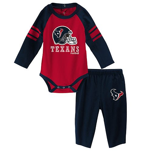 Baby Houston Texans Future Starter Bodysuit & Pants Set