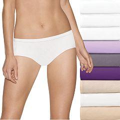 Women's Hanes Ultimate Comfort Stretch 9-Pack Hipster Panties 41KSP9
