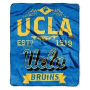 UCLA Bruins Label Raschel Throw by Northwest