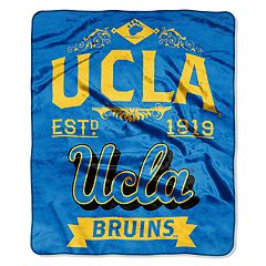 UCLA Bruins Label Raschel Throw by Northwest