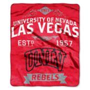 UNLV Rebels Label Raschel Throw by Northwest