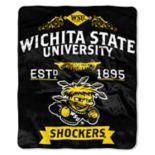 Wichita State Shockers Label Raschel Throw by Northwest