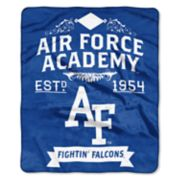 Air Force Falcons Label Raschel Throw by Northwest