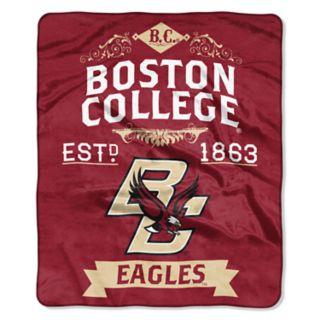 Boston College Eagles Label Raschel Throw by Northwest