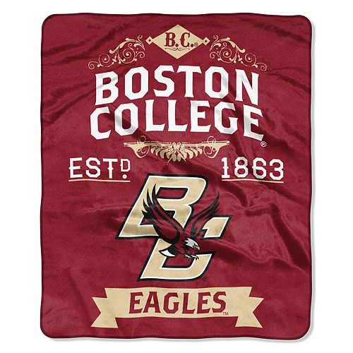 Boston College Eagles Label Raschel Throw by Northwest
