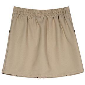 Girls 4-16 Chaps School Uniform Box-Pleated Skort