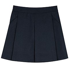 Girls 4-16 Chaps School Uniform Box-Pleated Skort